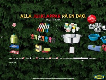 Alla julklappar på en dag (Ikea)