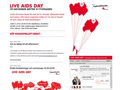 Live Aids Day (Röda Korsets ungdomsförbund)