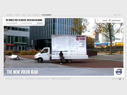 The XC60 Billboard campaign (Volvo)