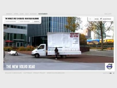 The XC60 Billboard campaign (Volvo)