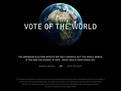 Vote of The World