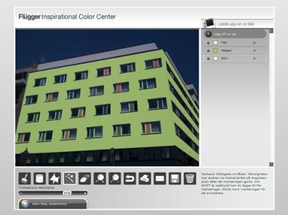 Flügger Inspirational Colour Centre