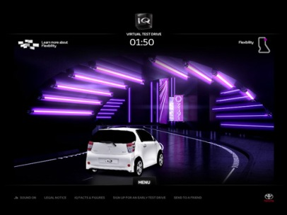 iQ - Virtual Test Drive (Toyota)