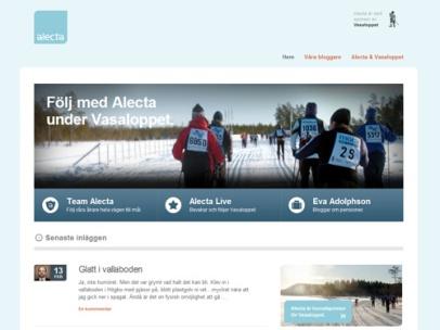 Alectas Vasaloppsblogg (Alecta)