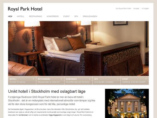 royalparkhotel.se (Royal Park Hotel)