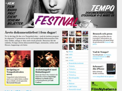 tempofestival.se (Tempo dokumentärfestival)