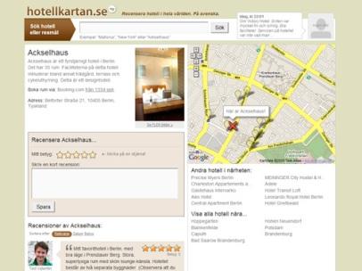 Hotellkartan (Webbtjänst)