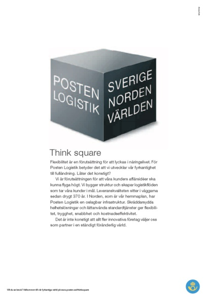 Think square (Posten)