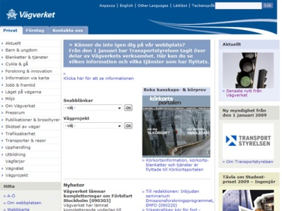 vagverket.se (Vägverket)