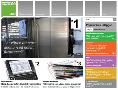 Internetdagarna 09 (.SE)
