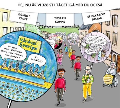 Demonstrera (Kommunal)
