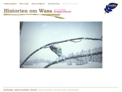 wasa.com (Wasabröd)