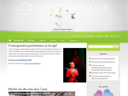 centerpartiet.se (Centerpartiet)