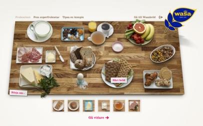 Wasas frukosttest (Wasa)