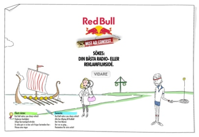 Red Bull Best Ad Contest (Red Bull)