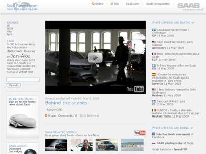 Saab Newsroom (Saab)