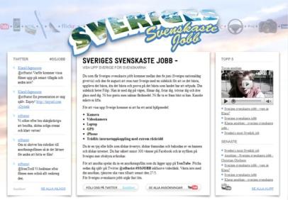 Sveriges svenskaste jobb (STF)