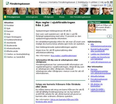Date sidor i norge