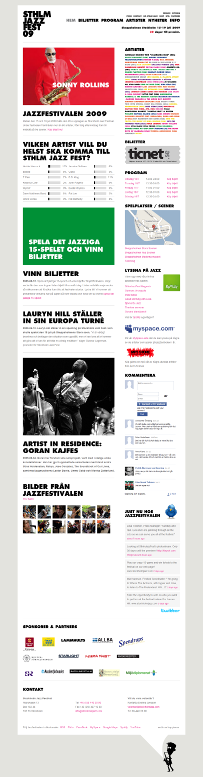 stockholmjazz.com (Stockholm Jazz Festival)