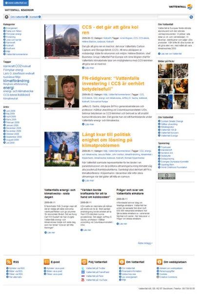 Vattenfall Newsroom (Vattenfall)