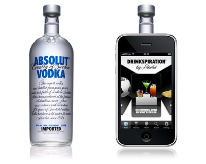 Drinkspiration by Absolut (Absolut Vodka)