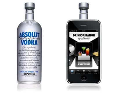 Drinkspiration by Absolut (Absolut Vodka)
