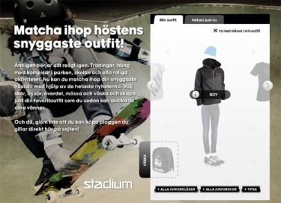 Matcha ihop höstens outfit (Stadium)