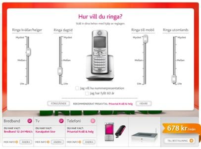 Digital inredning för ditt hem (Telia)