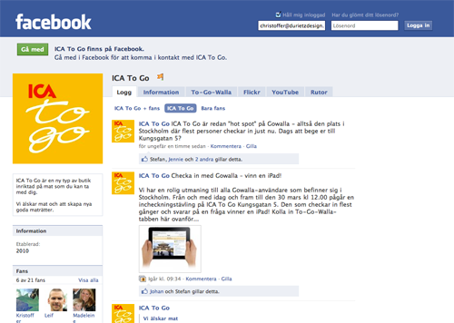 Ica facebook